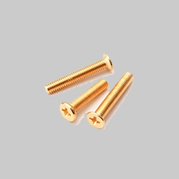 螺纹钉电镀金